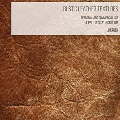 SALE Rustic Tan Leather Texture Digital Paper by LinePush on Etsy  Texture, leather background, leather wallpaper, design elements, fashion design
