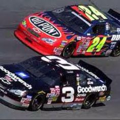 Dale Earnhardt Sr. & Jeff Gordon Daytona 500, 2001