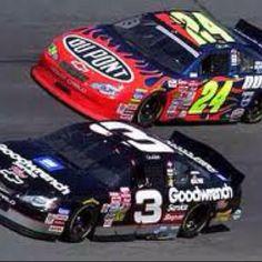 Dale Earnhardt Sr. & Jeff Gordon Daytona 500, 2001