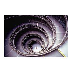 Bramante Staircase // Donato Bramante // Pio-Clementine Museum, Vatican City  #architecture #stairs #design #art #interiordesign #italy #history #designer #view #fuigo