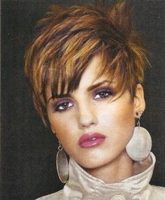 Image Detail for - very cute sassy short haircut this short crop is cut above the ears ...