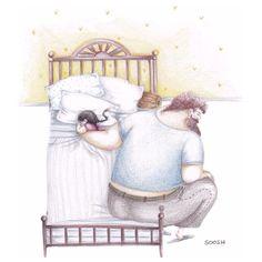 Veja estas ilustrações. Elas vão aquecer seu coração agora.