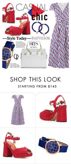 """""""Always dress well"""" by gabrilungu ❤ liked on Polyvore featuring Marc Jacobs, Charlotte Olympia, CasualChic and christianpaul"""