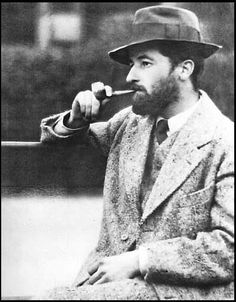 William Faulkner, Luxembourg Gardens, Paris 1920s