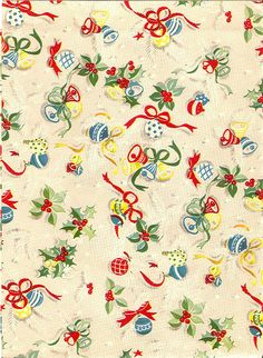 Vintage Wrapping Paper by Sugar & Meringue / E-A-T, via Flickr