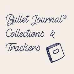 Deuxième article d'une série de 3 pour commencer un Bullet journal® ! Je vous parle aujourd'hui des collections et trackers ! #bulletjournal #bujo #tracker #collection #bujo2018fr #bulletjournaljunkies #bulletjournaling