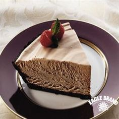 Frozen Chocolate Mousse Pie from Eagle Brand®