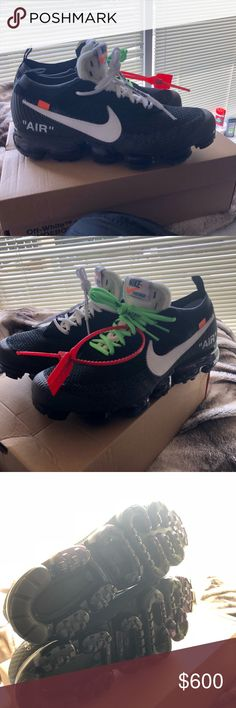 Vapormax Off whites Worn a few times. Come with OG box and Laces Off-White Shoes Athletic Shoes