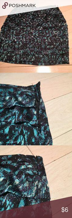 Forever21 Skirt Adorable layered skirt. Width is 13 1/2 inches and length is 16 1/4 inches. Forever 21 Skirts Mini