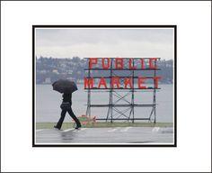 Medium Online, 1st Avenue, Art Prints For Sale, Amazing Places, The Good Place, Seattle, 3d Printing, Washington, National Parks