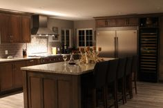 Kitchen Remodel with Wolf, Zephyr, Frigidaire, Vinotemp, and Cambria Quartz.