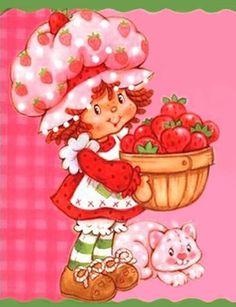 Charlotte aux Fraises a cueilli un plein panier de fraises avec Riz au Lait by Crêpe Suzette, via Flickr