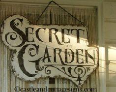 secret garden signs, secret garden | the secret garden | pinterest | gardens, garden, Design ideen