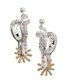 Beautiful spur ear rings