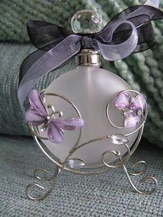 Bouteille de parfum Belle