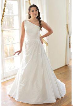perline monospalla abiti da sposa Altara Dea Alisa 2014