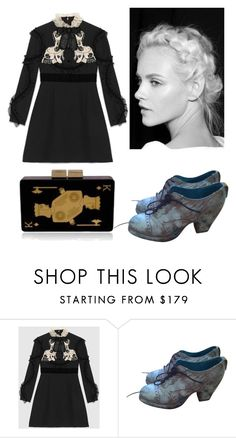 """""""Untitled #230"""" by amory-eyre ❤ liked on Polyvore featuring Gucci and Urania Gazelli"""