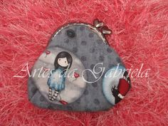 Carteira gorjuss Coin Purse, Wallet, Purses, Wallets, Tejidos, Handbags, Purse, Diy Wallet