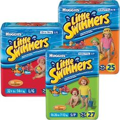 Huggies Little Swimmers for $0.40 at Kroger and King Soopers (after coupon)!
