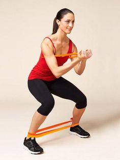 Our resistance band exercises for beginners target your back, arms, abs, obliques, and legs, helping keep you toned and trim. Burn calories and sculpt your body with these resistance band workouts!