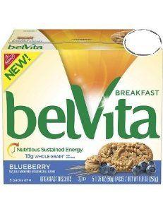 (2 Pack) Belvita Blueberry Breakfast Biscuits, 5-1.76 oz packs (8.8 net wt) each - http://www.handygrocery.com/grocery-gourmet-food/2-pack-belvita-blueberry-breakfast-biscuits-5176-oz-packs-88-net-wt-each-com/
