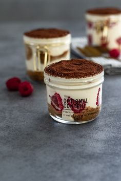 Tiramisu, Cheesecake, Food And Drink, Sweets, Healthy Recipes, Vegan, Drinks, Cooking, Ethnic Recipes