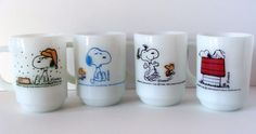 If you find any vintage Fire-King, Glasbake, or Federal glassware, a 50 cent mug could go for $10-15 on eBay. Especially if it's emblazoned with a well-known pop culture icon.Check out more examples of these vintage mugs here.