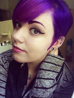 Purple Pixie: Source: Instagram user lysseon