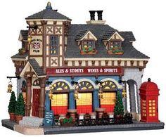 Big Ben Pub - Lemax Caddington Village