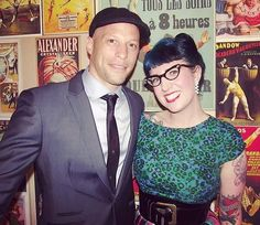 3 years ago. I went to the opening party of @amijames1 London shop and I interviewed him over brunch the day after for @thingsandink I'd never interviewed someone officially before and I rocked up with my dictaphone more than a tad nervous! I was proud of myself that day it was scary but I felt the fear and fucking just did it. Ami was passionate driven and pulled no punches. #miamiink #tattoos #flashback #bluehair by rockalily
