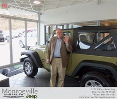 Happy Birthday to Edward Leckey from James Little III and everyone at Monroeville Chrysler Jeep! #BDay