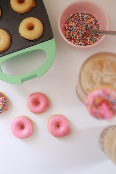 mini donut recipe -
