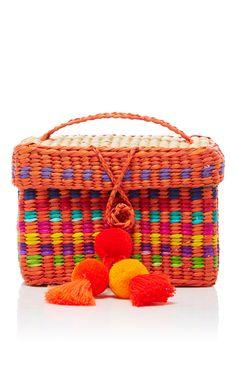 NANNACAY Baby Roge Pompom Clutch. #nannacay #bags #clutch #wool #hand bags #
