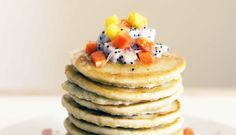 Tropical Buckwheat Pancakes
