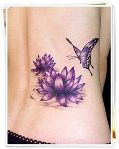 tatuajes para mujeres a color en la espalda