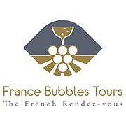 Logo of the France Bubbles Tours brand Tourist Office, Self Driving, France Travel, Day Tours, Tour Guide, Wine Tasting, Bubbles, Logo, Logos