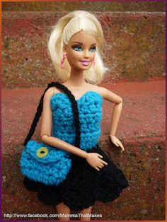 Mamma That Makes: Barbie Outfit - Movie Night Dress