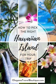 How to Pick the Right Hawaiian Island For Your Trip.   Weather going on a honeymoon or family vacation let us help you determine which hawaiian island would be best for you!   Olegana Travel Boutique #Hawaii #Travel #Honeymoon #familyvacation Winter Wedding Destinations, Top Honeymoon Destinations, Destination Wedding Locations, Holiday Destinations, Honeymoon Ideas, Travel Destinations, Hawaii Travel, Thailand Travel, Croatia Travel