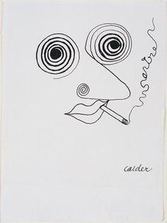 Картинки по запросу Alexander Calder Portrait of Jean-Paul Sartre, 1947 Alexander Calder, Avant Garde Artists, National Portrait Gallery, Portraits, Art Plastique, Sculpture, Art Sketchbook, Oeuvre D'art, Les Oeuvres