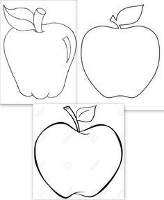 dessins grosses pommes