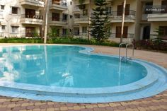 AC TV Pool | Studio Apartment  in Calangute