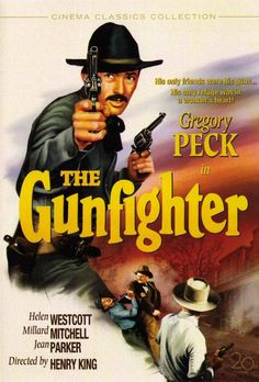 'He don't look so tough to me.' | Gregory Peck | The Gunfighter | #movies #westerns #hollywood