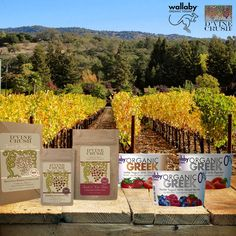 Wallaby Yogurt and D'Vine Crush are excited to offer a wonderful #giveaway straight from the Napa Valley. Like, share or comment to enter. One lucky giveaway winner will receive five cups of Wallaby Greek Yogurt and a D'Vine Crush Crumbles package assortment.  Giveaway ends Dec. 19th, 2014. Winner announced via our Facebook page (@wallabyyogurt) on Dec. 22nd, 2014. Valid to U.S. residents only