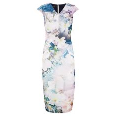 28159787c Buy Ted Baker Amily Tile Floral Geo Midi Dress