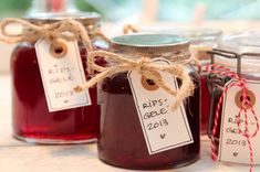 Ripsgele Preserves, Nom Nom, Place Cards, Food And Drink, Place Card Holders, Sweets, Homemade, Recipes, Juice