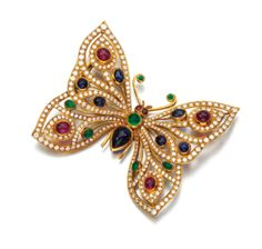 Jewelled butterfly | Duchess of Devonshire