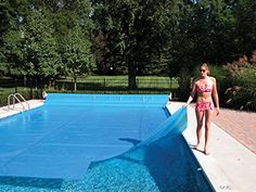 20'x40′ Rectangle Supreme Blue Solar Cover – 12 Mil  Do you hate having ice cold pool water? Heat it up with a solar cover. It's a great way to capture the suns heat and take full advantage of this natural resource to heat your swimming pool. The benefits of owning a solar cover are plentiful and serve a multitude of purposes. Take advantage of the sun's FREE HEAT resulting in an average of 5-10 degree temperature rise. Take advantage of the sun's FREE HEAT resulting in an average of..