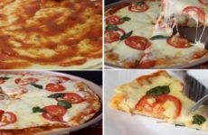 Masa casera para pizza al horno | Resultados da pesquisa | Receitas Soberanas Pan Dulce, Empanadas, Cheesecake Bites, Italian Cooking, Veggie Recipes, Tapas, Mashed Potatoes, Catering, Mango