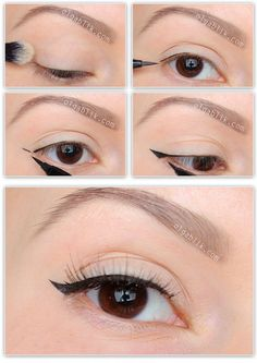 How to Apply Eyeliner Eyes