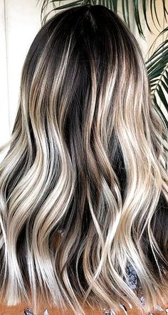 hair color balayage 32 Fun Summer Hair Colors For Brunettes Blondes 2019 - Love Casual Style Red Balayage Hair, Ash Blonde Hair, Hair Highlights, Dark Hair, Balayage Color, White Hair, Blonde Highlights For Brunettes, Brunette Color, Ombre Hair Color